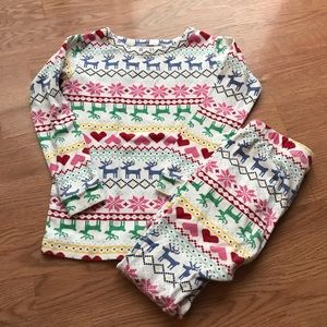 Gap Fair Isle Christmas Pajamas